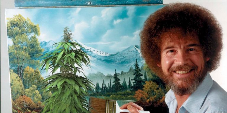 Therapists Recommend a Combination of Marijuana and Bob Ross for Anxiety