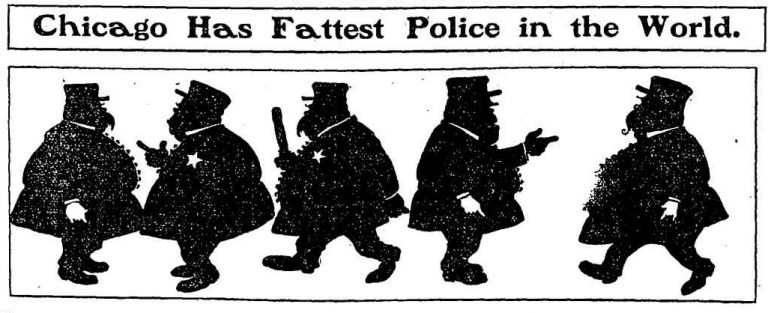 Cops: We're not Racist, Just Too Out-of-Shape to Chase You