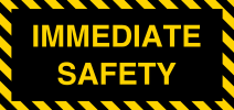 Immediate Safety logo