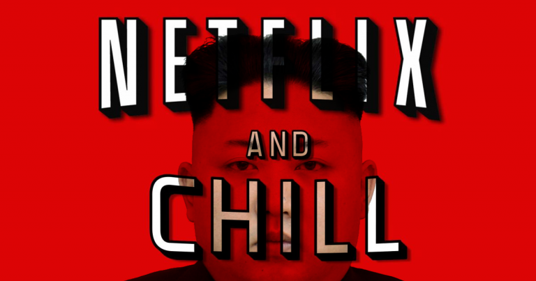 Kim Jong-Un releases Netflix and Chill safety video.