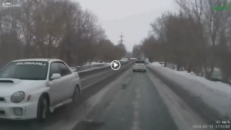 How To Pass Safely in the Snow